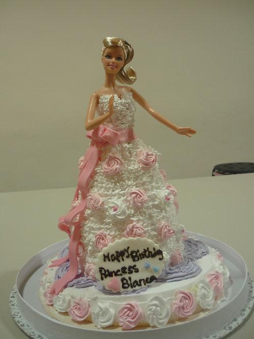 公主系列鮮果忌廉蛋糕 ~玫瑰公主