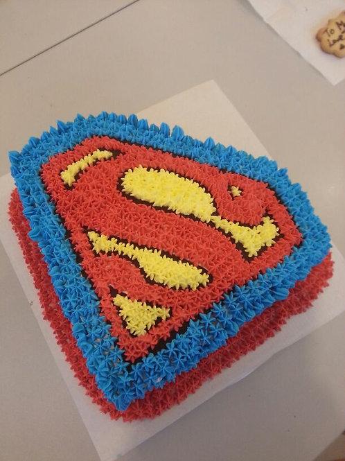 超人鮮果忌廉蛋糕