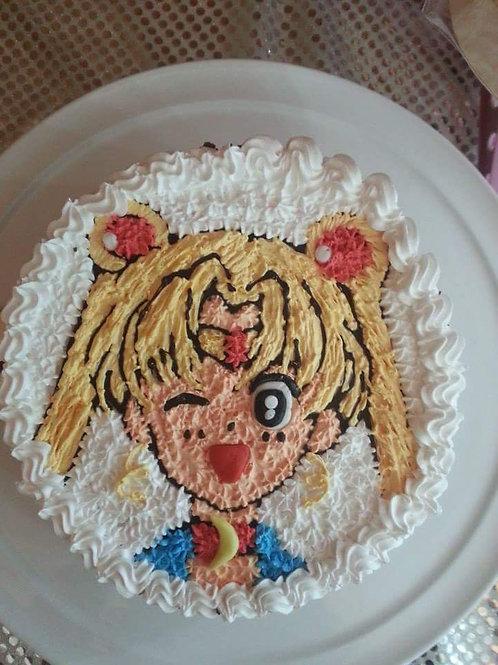 美少女鮮果忌廉蛋糕
