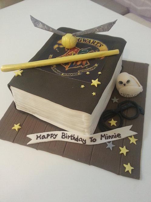 糖皮哈利波特魔法蛋糕