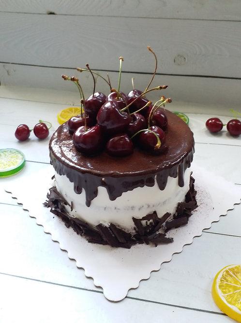原粒車厘子黑森林蛋糕