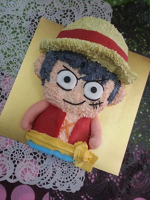 海賊王路菲鮮果忌廉蛋糕