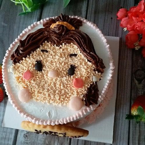 Tsum Tsum Belle 2D 鮮果忌廉蛋糕