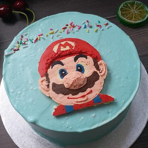 Mario 士多啤梨芝士慕斯蛋糕