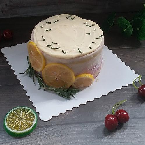 鮮檸檬牛油蛋糕