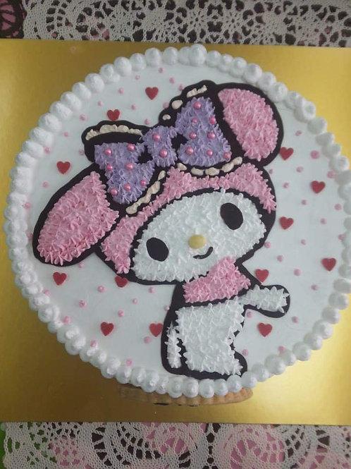 Melody 鮮果忌廉蛋糕