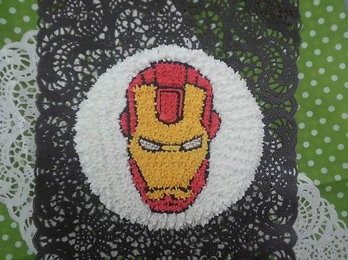 Iron Man 鮮果忌廉蛋糕