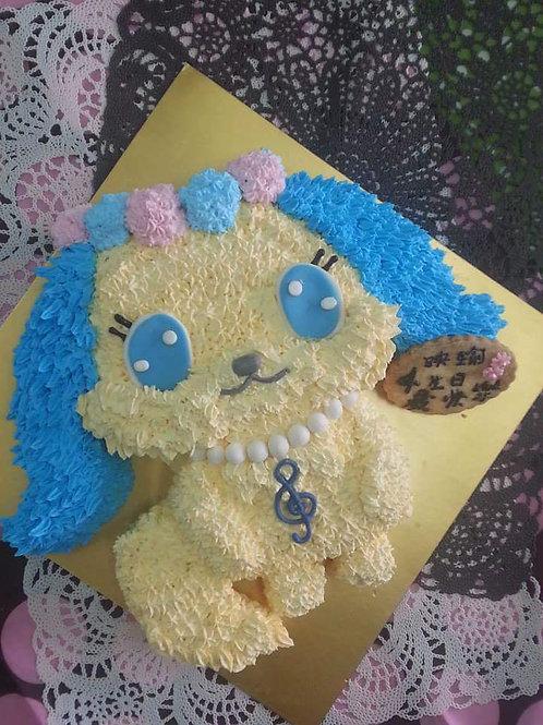 寶石寵物愛莎鮮果忌廉蛋糕