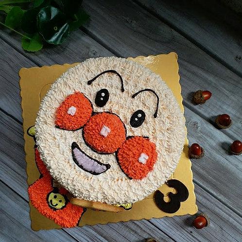 麵包超人忌廉蛋糕