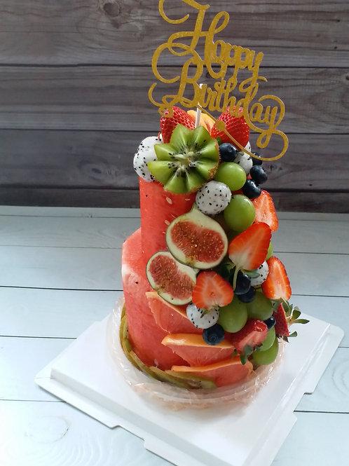 超級鮮果蛋糕