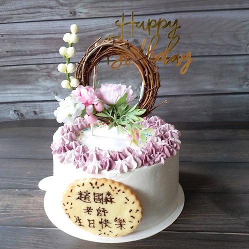 花卉擺件鮮果忌廉蛋糕