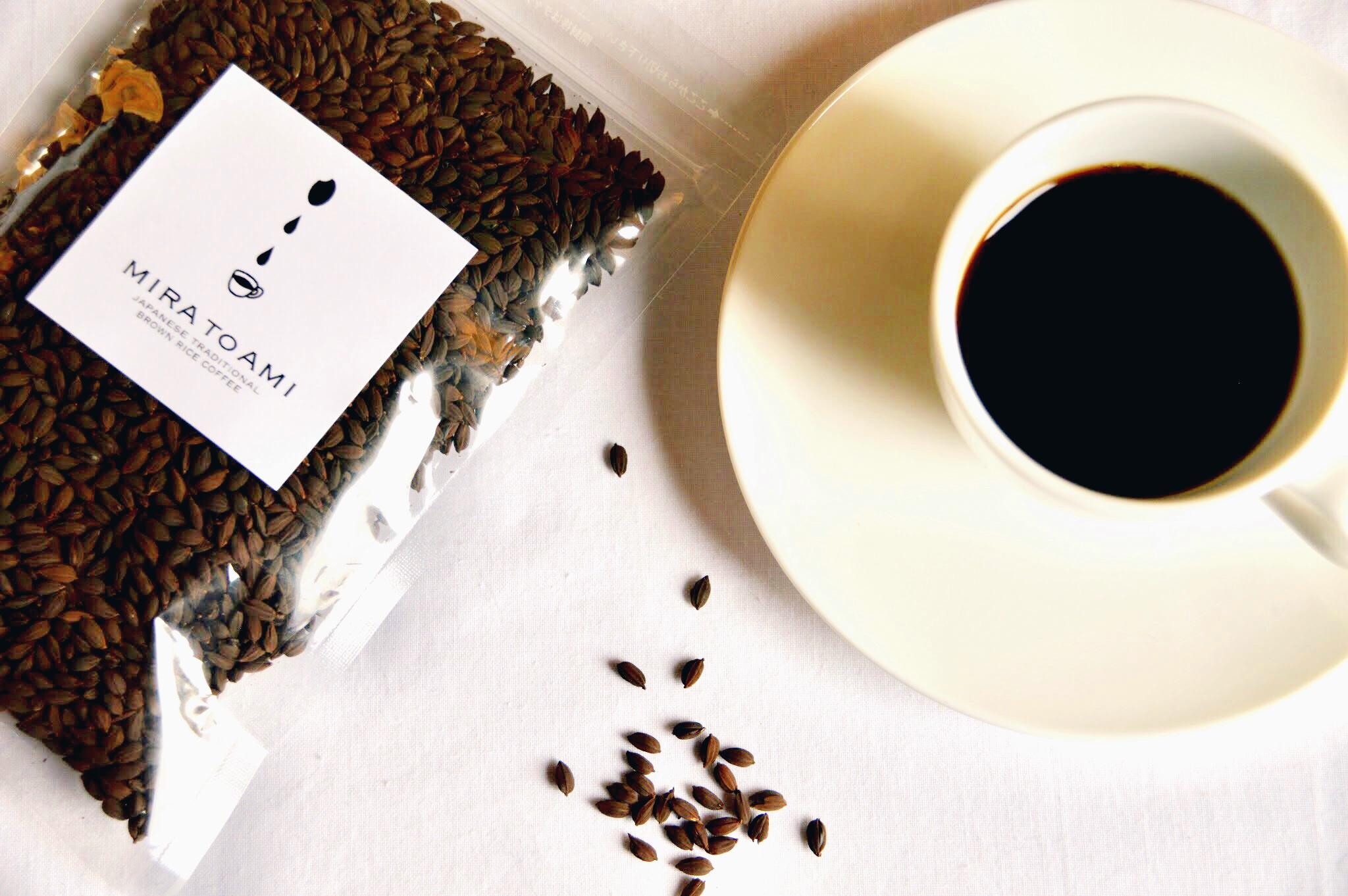 お米コーヒー粒②