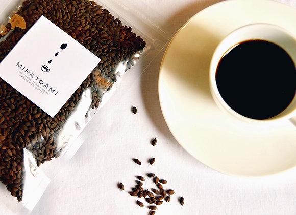 ミラトアミ お米コーヒー粒 100g 中