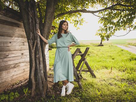 Kapsulový šatník: Letné pastelové šaty