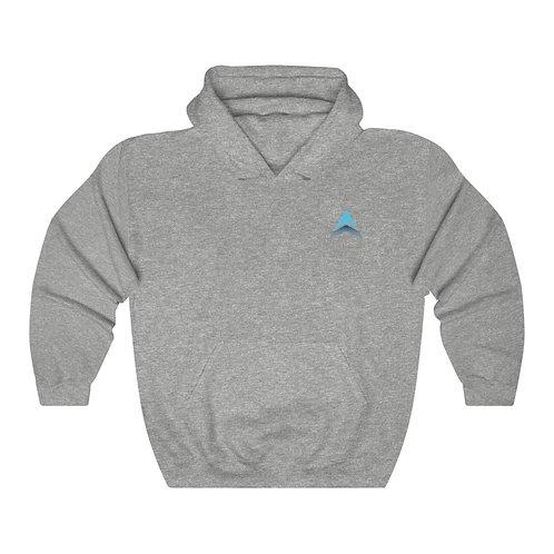 Unisex Heavy Blend™ Hooded Sweatshirt DRONE LOGO Double Side