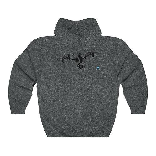 Unisex Heavy Blend™ Hooded Sweatshirt Drone Double Side