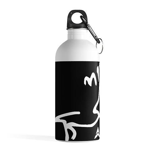 Stainless Steel Water Bottle AFT BIRD LOGO
