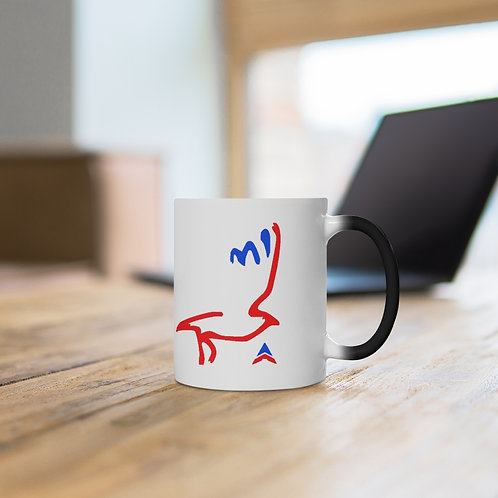 Color Changing Mug BIRD USA