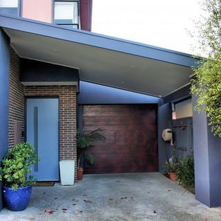 Townhouse Carport & Entrance