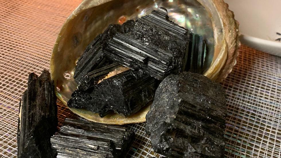 Black Tourmaline Protection log