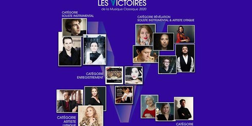 Concert des Révélations des Victoires de la Musique 2020