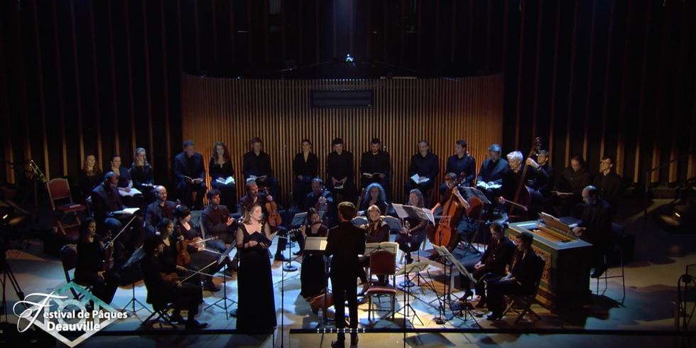 Grands Motets inédits de Gervais, Stabat mater et Magnificat de Vivaldi / Les Ombres