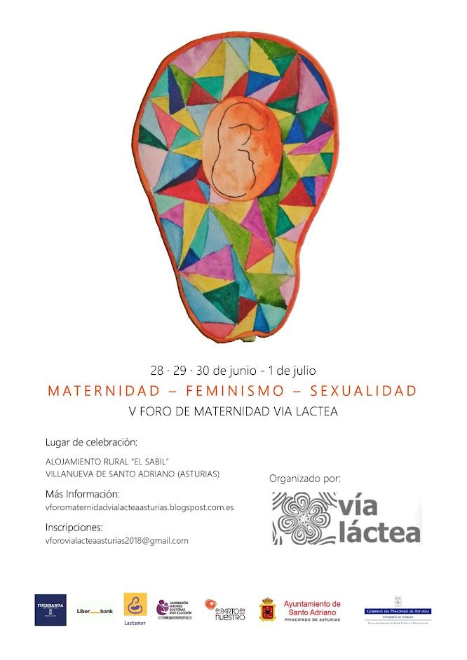 V foro de maternidad vía lactea