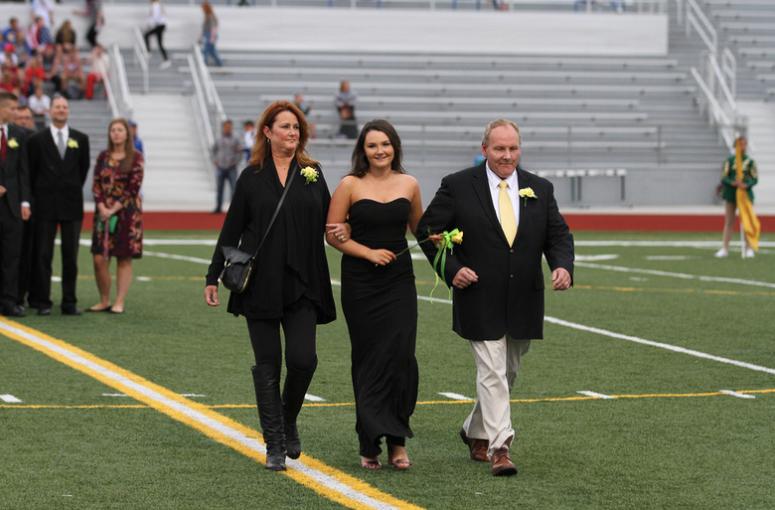 Ashley Hays walking at coronation!