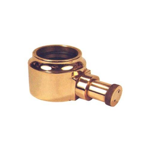Gunmetal metal female adapter