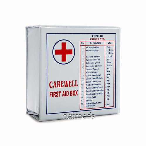 Carewell first aid box type 3