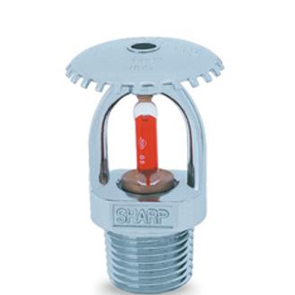 Upright sprinkler UL