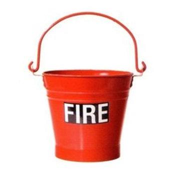 Fire bucket 9 Ltr capacity
