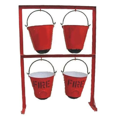4 bucket stand with bucket