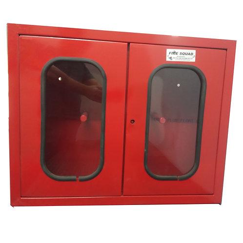 Double door hose box 18 gauge