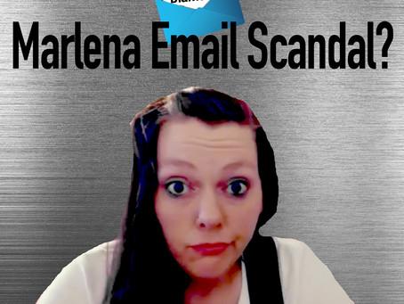 Marlena Email Scandal?