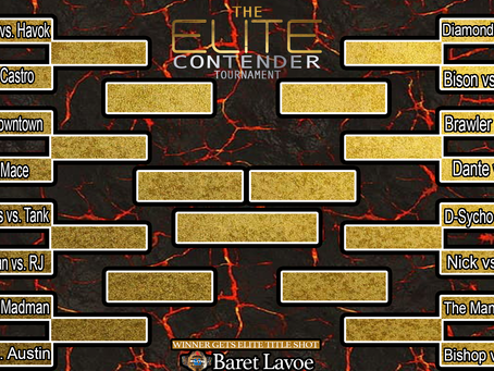 Elite Contender Tournament Brackets Revealed!