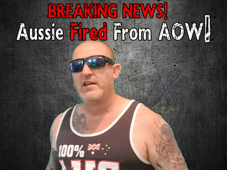 Foul Mouth Aussie Officially Fired!