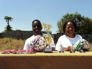 Ndola: third year with Cup of Hope!