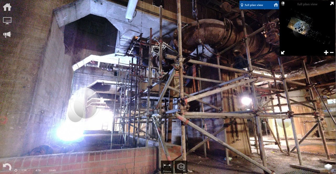 processing facility factory 3d survey 3d laser scan faro bms design ltd