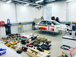 bms rally team evo 6 rally car restorati