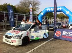 24 BMS Rally Team Civic Type r ep3 rally