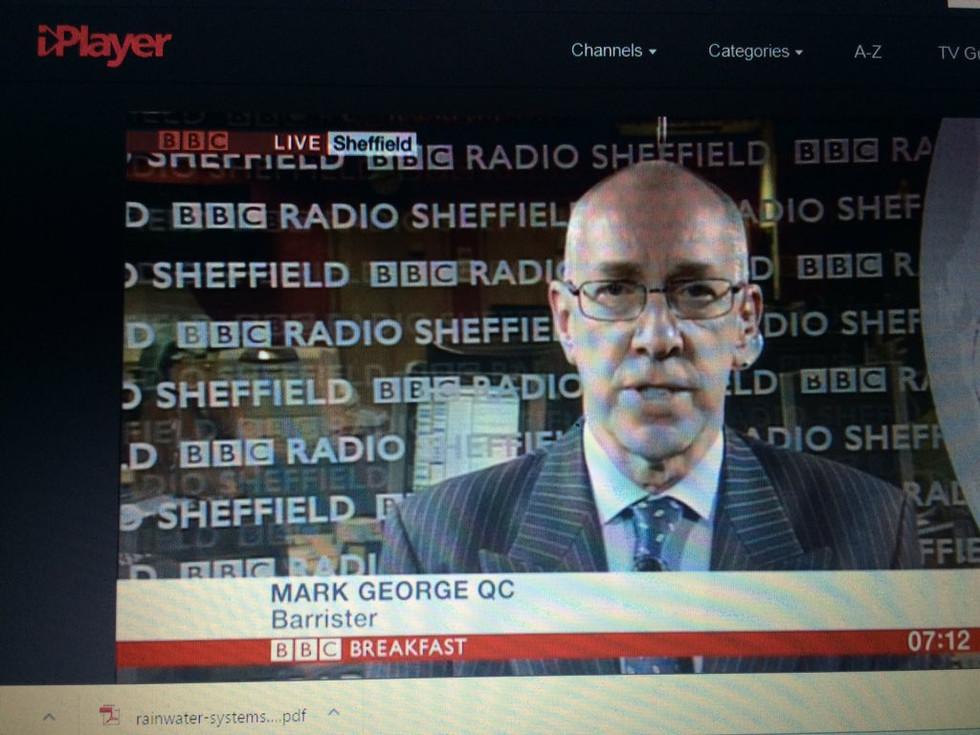 Mark George QC personal branding