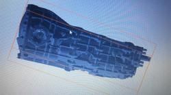 Ferrari gearbox 3d laser scan bms design ltd