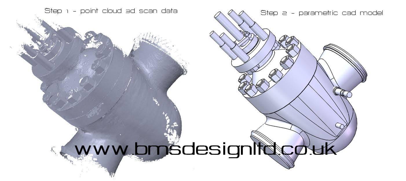 valve scan 3d scanning bms design ltd ma