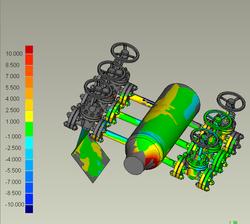 pipe line manifold repair survey 3d scan bms design ltd