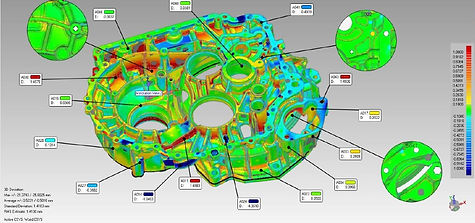inspectin report polyworks 3d laser scan
