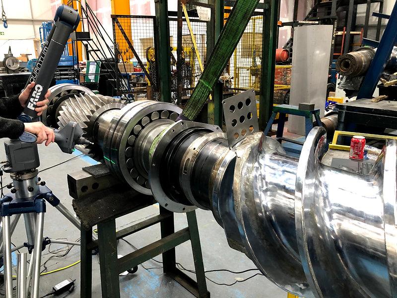 plastic mixing screw reverse engineering