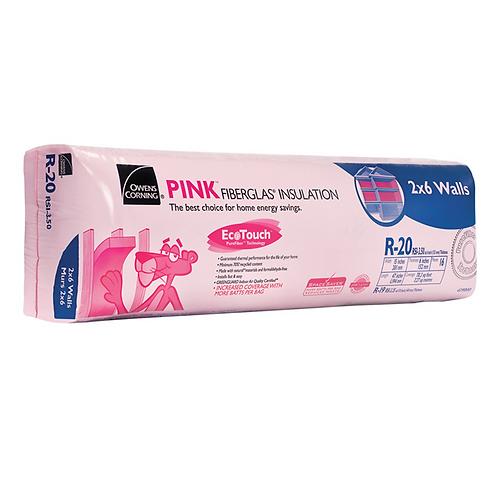 EcoTouch® PINK® Fiberglas® R20/15