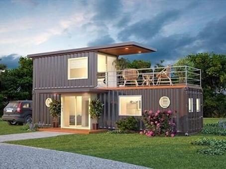 Casa container é moda! Você teria uma?