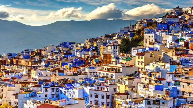 Morocco, a North African country bordering the Atlantic Ocean and Mediterranean Sea, is distinguished by its Berber, Arabian and European cultural influences.